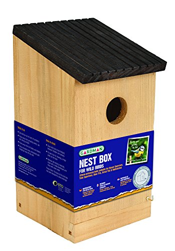 Gardman A04379 Nest Box - Brown