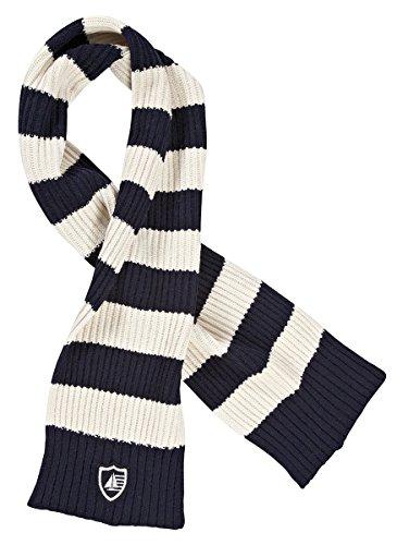 Marinepool nevero écharpe écharpe pour Femme Bleu Marine/Blanc Taille Unique 1000814–500/001–110