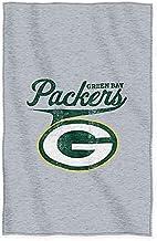 """Northwest Green Bay Packers Sweatshirt Throw, 50"""" x 60"""""""