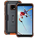Rugged Smartphone, Blackview BV4900 Pro Android 10 4G Telefono Antiurto 4GB+64GB (128GB Espansione) Helio P22 5.7 inch, 5580mAh, 13MP + 5MP Camera Rugged Cellulare IP68/IP69K/Dual SIM/NFC/OTG(Arancia)