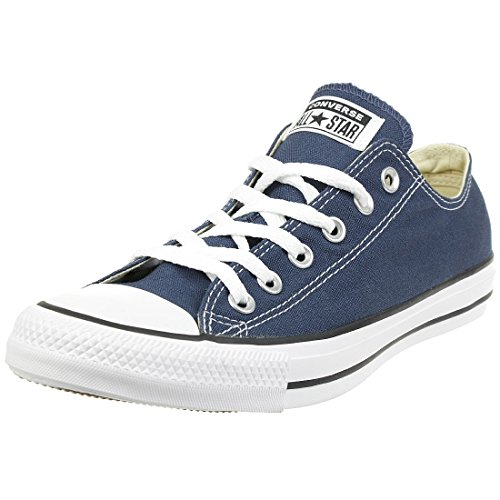 Converse Unisex-Erwachsene Chuck Taylor All Star-Ox Low-Top Sneakers, Blau (Navy), 40 EU