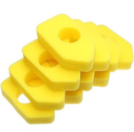 Queenwind 10pcs のためのエアフィルター黄色の泡