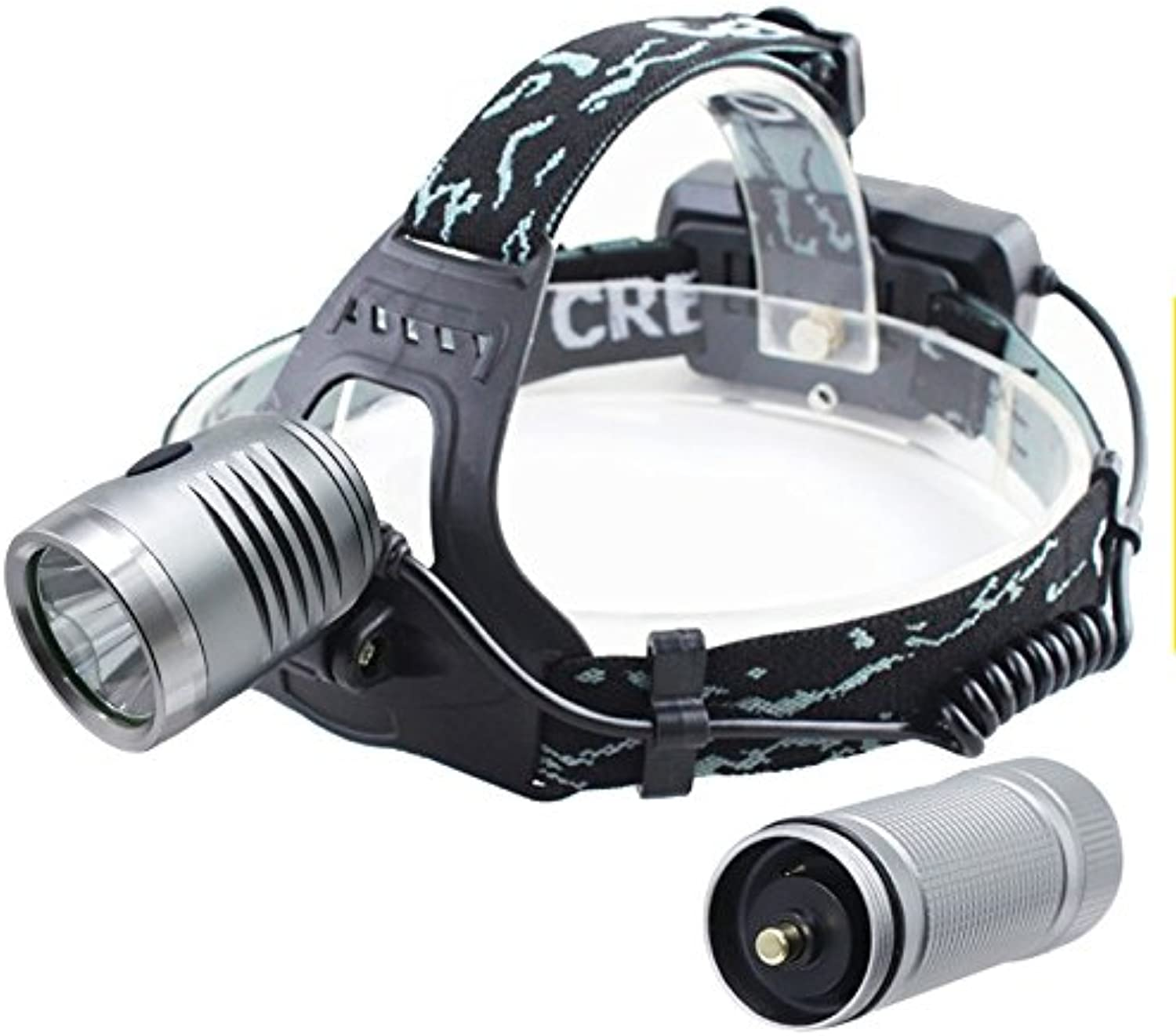 LL LED Headlamp 3Mode Waterproof Headlight Camping Hunting Head Torch by 18650 Battery Flashlight led Light Night