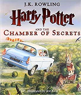 [0545791324] [9780545791328] Harry Potter and the Chamber of Secrets: The Illustrated Edition (Harry Potter, Book 2)- Hard...