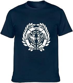 半袖ティーシャツ 半袖Tシャツ ロンT 伊達政宗 家徽 メンズ インナーシャツ 両面プリント ラウンドネックTシャツ コットンTシャツ カジュアル 綿100% おしゃれ ファッション 人気 スポーツシャツ 部屋着 トップス 4色