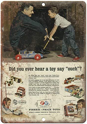 Fisher Price Toys Creative Coaster Póster de Pared Metal Creativo Placa Decorativa...