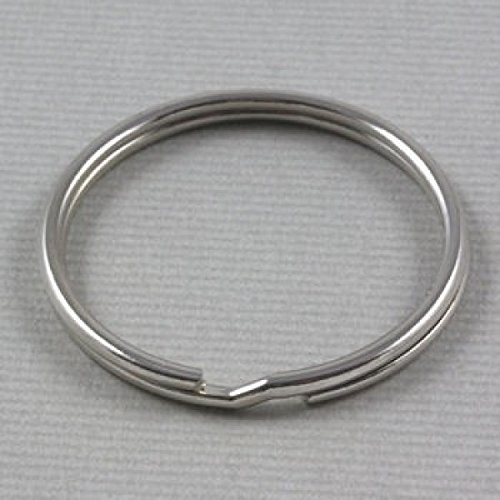 Beads4Crafts Steel Split Rings 40mm (Pack of 10) CSR191