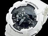 カシオ CASIO Gショック ホワイト&ブラック アナデジ メンズ 腕時計 GA-110GW-7AJF[並行輸入品]