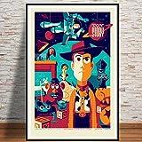 DKMDT Kinderzimmer Toy Story Film filmkunst Poster leinwand