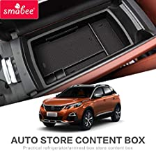 SMABEE Car Central armrest Box for Peugeot 3008 2017 2018 2019 2020 MK2 3008GT GT Interior Accessories Stowing Tidying Organizer