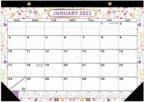 Calendarios 2021 921 Calendario Planificador de pared de gran tamaño, para nevera, ideal para el planificador de menús, memo, recordatorio de eventos, lista de compras mensual o semanal ZSMFCD