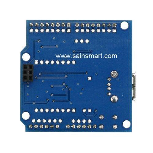 SainSmart USB Host Android ADK Shield 2.0 for Arduino UNO MEGA R3 Mega2560 Duemilanove Nano Robot