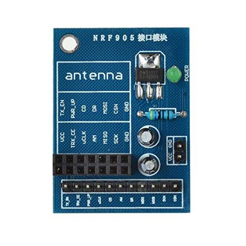 Verwisselbare Accessoires 14-Pin nRF905 Radio Module Socket Adapter Plate Board Converter for Arduino