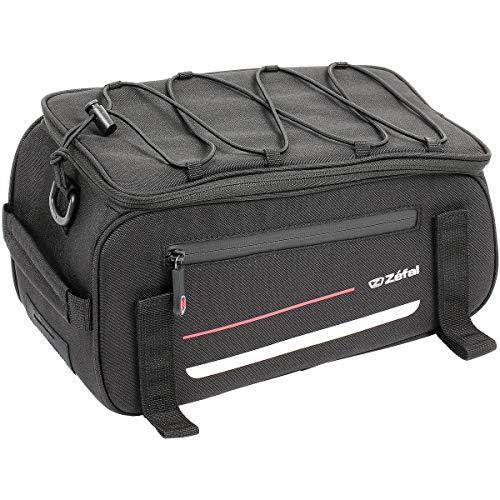 ZEFAL Unisex– Erwachsene Gepäckträgertasche-2701715900 Gepäckträger, schwarz, Einheitsgröße