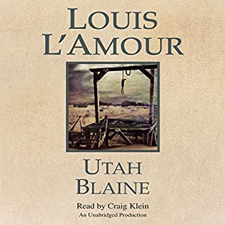 Utah Blaine audiobook cover art