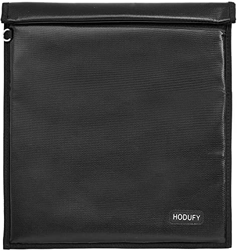 Faraday Bags 9.8 x 11 Inches, Fireproof & Waterproof Faraday Cage, Faraday Key Fob Protector, Cell...