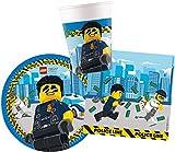 Procos 10136167B - Kinderpartyset S Lego City  52-