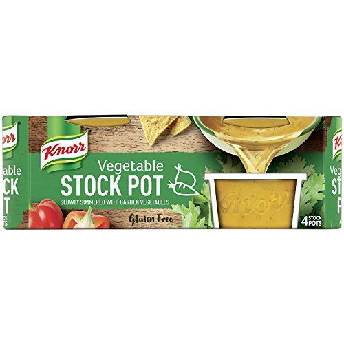 Knorr Vegetable Stock Pot, 4 x 28 g