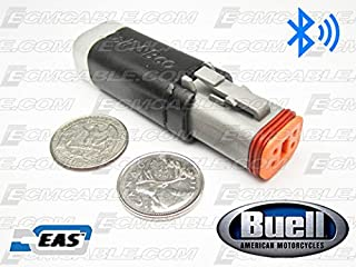 Buell Bluetooth ECMDroid Dongle LITE Black ECMSpy NO Cable with EAS Technology