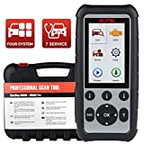 Autel MaxiDiag MD806 Automotive Diagnostic Scan Tool for Engine, Transmission, SRS and ABS Systems with Services of EPB, Oil Reset, DPF, SAS and BMS (Same Function of MD808) 2020 Newest, Free Updates