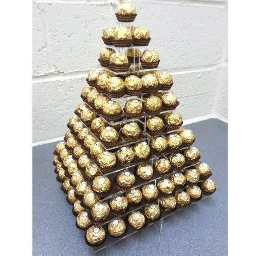 Super Cool Creations Ferrero-Rocher- / Süßigkeiten-Stand, quadratisch, 10 Etagen
