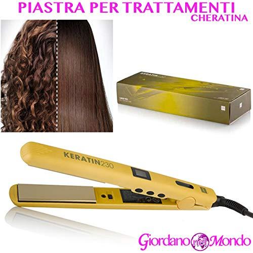 Lisseur cheveux professionnel uniquement pour traitements à la cheratina Plaque à ultrasons pour coiffeur