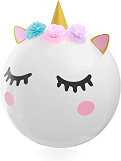Unicorn Balloons for Unicorn Party Supplies & Decoration, 36 Inches Super Large DIY Balloon for Children's Birthday Party Baby Shower Wedding, Cute Balloon for Unicorn Theme Party 1 Pack
