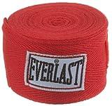 Everlast 4454R - Venda elástica, Color Rojo