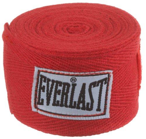 Everlast 4455R - Venda rígida, Color Rojo