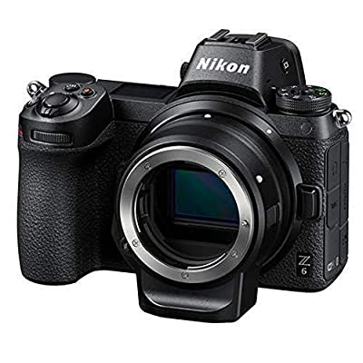 Nikon Z6 FX-Format Mirrorless Camera Body with Mount Adapter FTZ from Nikon