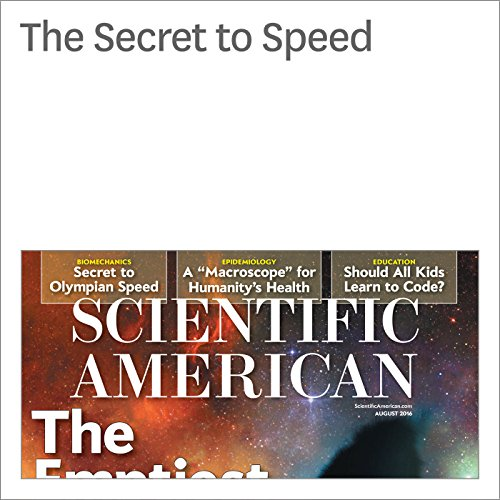 The Secret to Speed cover art