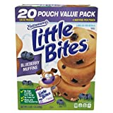 Entenmanns Little Bites Blueberry Muffins 20 Pouches 80 Muffins No High Fructose Corn Syrup 0g Trans Fat Made with Real Blueberries