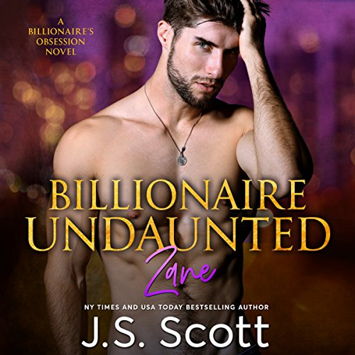 Billionaire Undaunted audiobook cover art