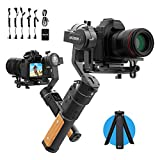 FeiyuTech AK2000C Gimbal Camera Handheld Stabilizer with OLED Touch Screen Compatible for DSLR Camera Sony A9/A7series a6300 Canon M50 EOS R Panasonic Nikon Fujifilm Max Payload Updates to 2.2 kg