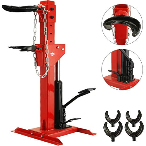 BestEquip 3 Ton Capacity Auto Strut Coil Spring Compressor 6600LB Strut Compressor with 4 Snap Joints Air Hydraulic Tool for Car Repairing and Strut Spring Removing (3 Ton Capacity)