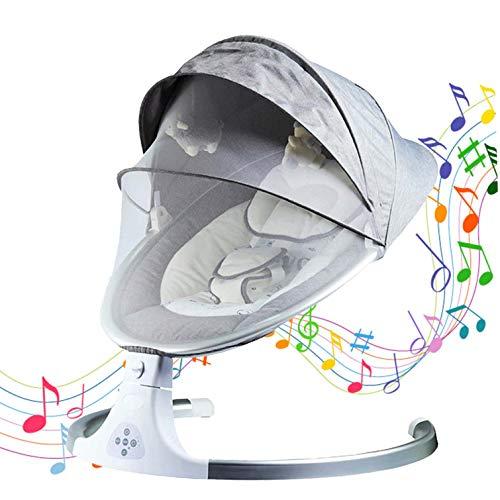 Baby Swing, Control Remoto Baby Rocker W/Red De Cuna Extraíble, Juguetes, Arnés...