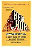 RZHSS Ben-Hur Movie Posters and Prints Wall Art Canvas