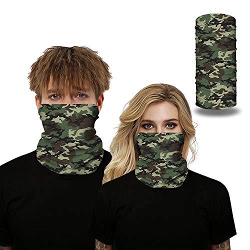 3 STKS Multifunctionele Hoofdband Bandana Camouflage Elastische Naadloze Hoofddeksels Bivakmuts Magische Hoofddoek voor Skiën Fietsen Yoga,3,One size