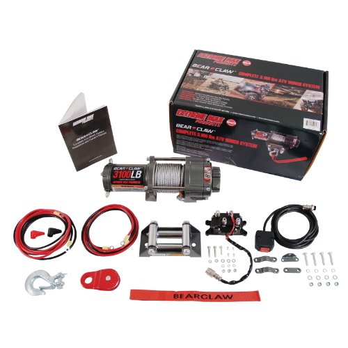Extreme Max 5600.3072 Bear Claw ATV/UTV Deluxe Winch Package - 3100 lb