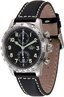 Zeno Watch Basel - Reloj para Hombre Analógico Automático con Brazalete de Cuero 9557-2T-a1
