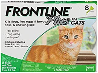 Frontline Plus Flea and Tick Treatment for Dogs 8 Month Supply
