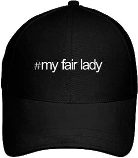Idakoos Hashtag My Fair Lady Bold Text Baseball Cap Black