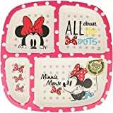 Elemed 1283 Piatto Disney a Scomparti Minnie