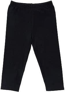 Capri Leggings Knit Cotton Crop Grils Leggings for School/Holiday Play
