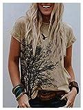 Camisetas Mujer Camiseta de las mujeres de manga corta elegante remiendo del cuello redondo de la flor de la flor de la moda de las damas ocasionales de la moda camiseta femenina camiseta corta
