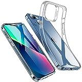 ESR iPhone 13 ケース 2021 クリアケース 高い透明度 耐衝撃 薄型 シリコンケース 黄変しにくい スリム 透明 柔軟 TPUカバー 6.1インチ クリア