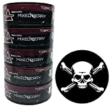 Nip Energy Dip Mixed Berry 5 Cans with DC Crafts Nation Skin Can Cover - Jolly Roger