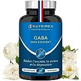 GABA 750 mg/j - Diminution du stress et de l'anxiété - Favorise le sommeil -...