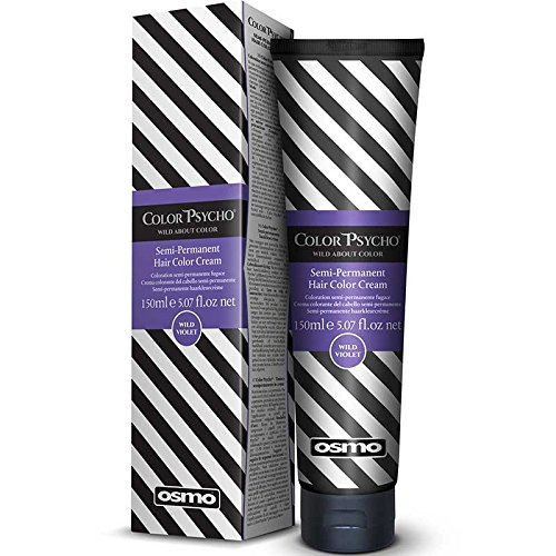 Color Psycho Tamer - Crema colorante semipermanente para el pelo, color violeta, 150 ml