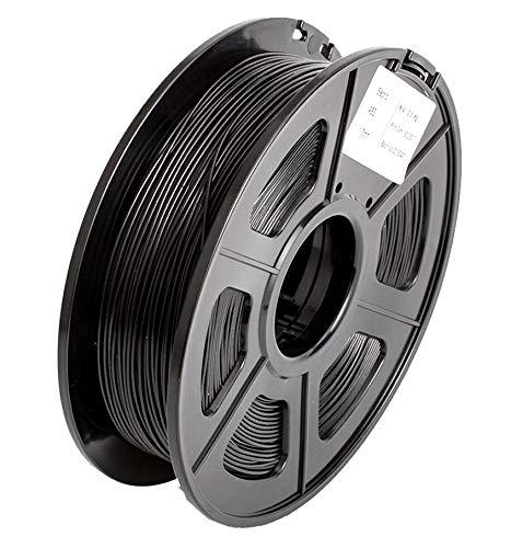 SUNLU 3D Pen Imprimante Filament Recharges ABS 1,75 mm, précision dimensionnelle +/- 0,02 mm, 1 kg (Noir)